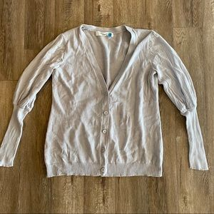 Sparrow for Anthropologie Puffy Shoulder Cardigan